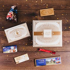 Lindt Chocoladen Club Features