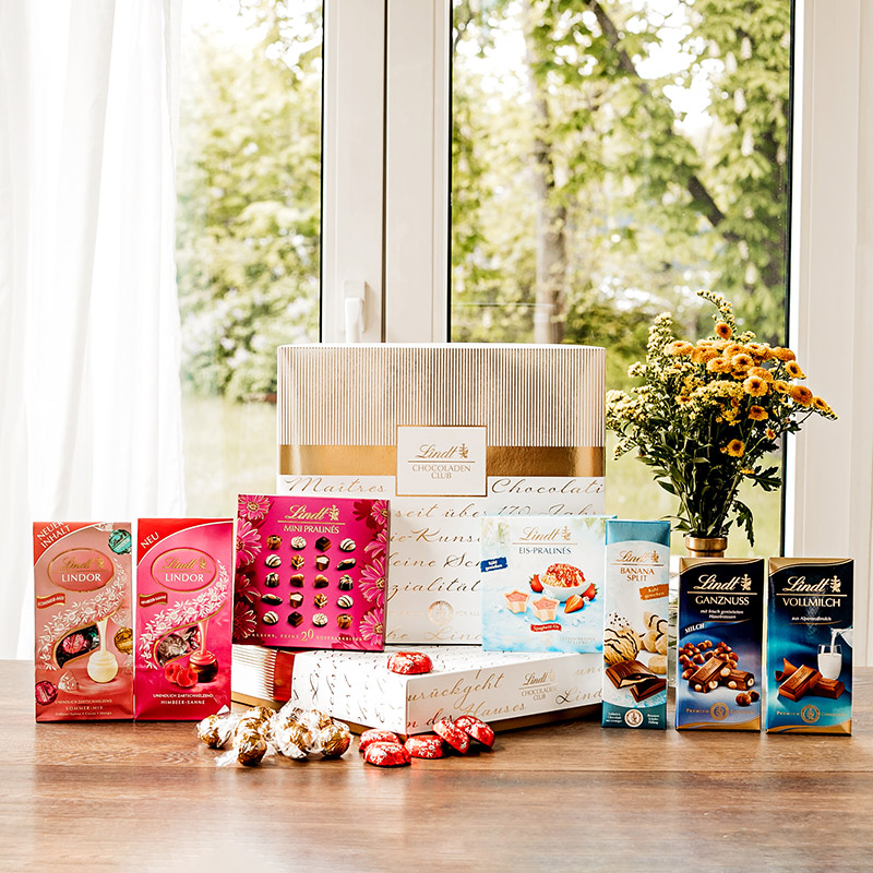 Lindt Chocoladen Club Features